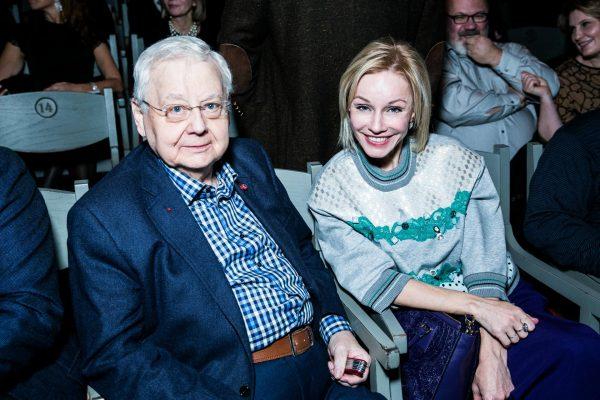 Марина Зудина и Олег Табаков, фото:zvezdi.ru