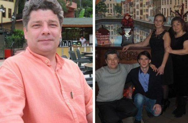 Сергей Захаров с семьёй. фото:news.myseldon.com