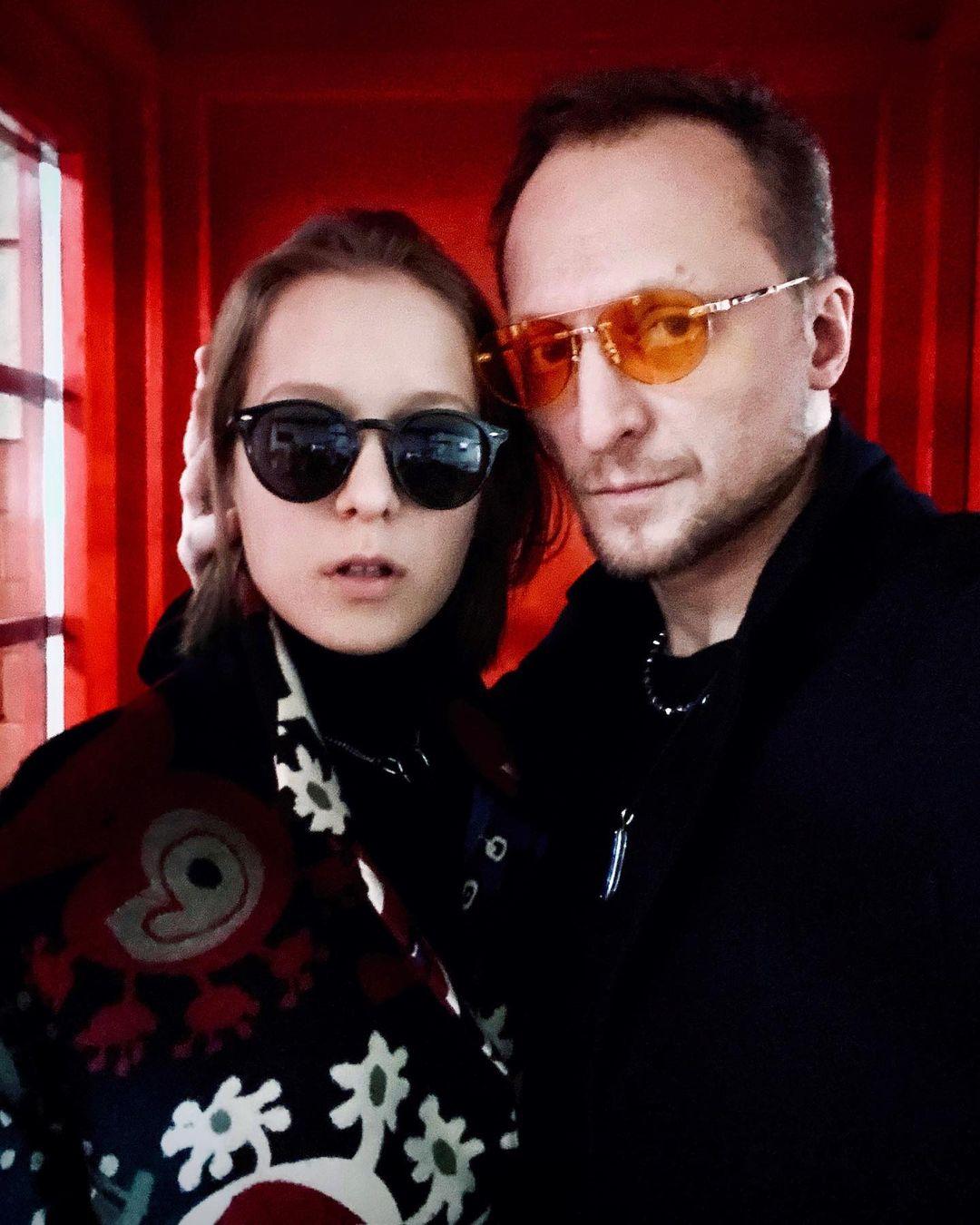 Мишуков с дочкой Прасковьей