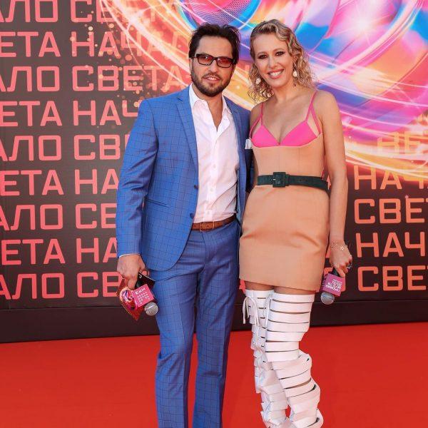 Александр Ревва и Ксения Собчак