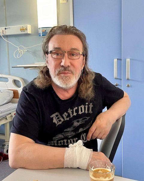 Кузьмин в госпитале