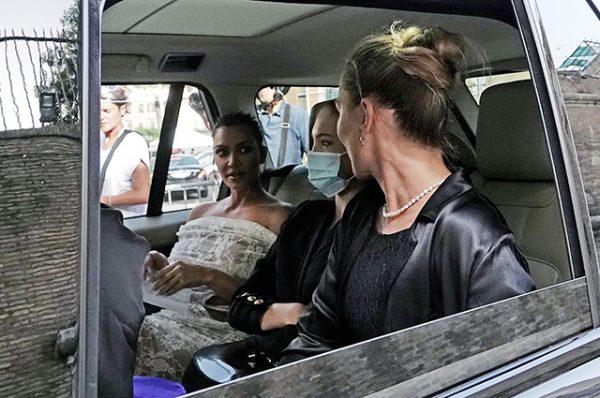 Ким Кардашьян, Кейт Мосс с дочерью