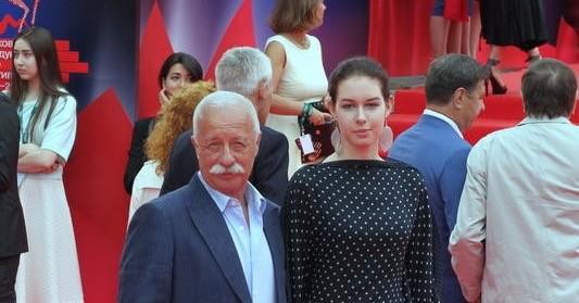 Якубович с дочкой Варей