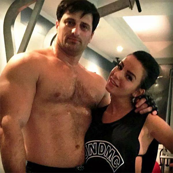 Георгий Зарандия и Юлия Волкова