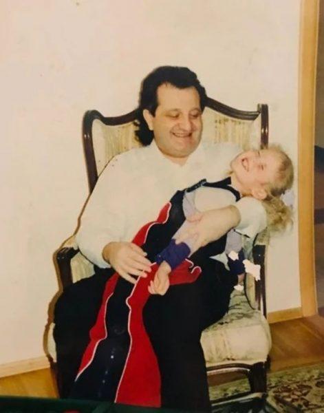 Шабтай Калманович с дочерью Даниэллой