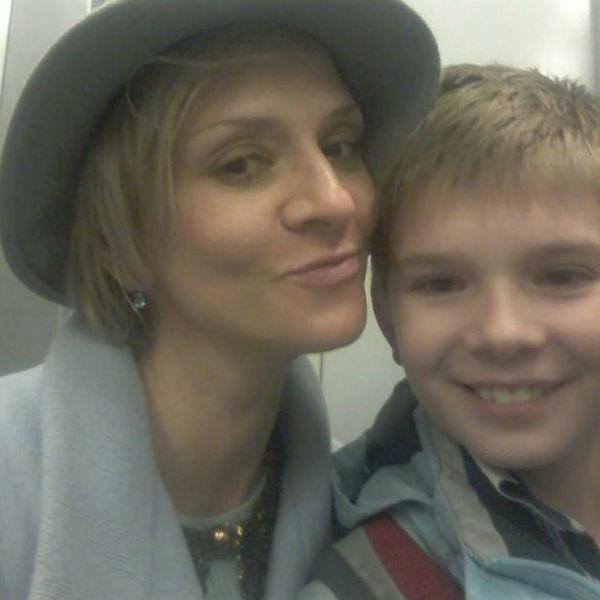 Наталья Селиванова с сыном Иваном. Фото mt.7days.ru