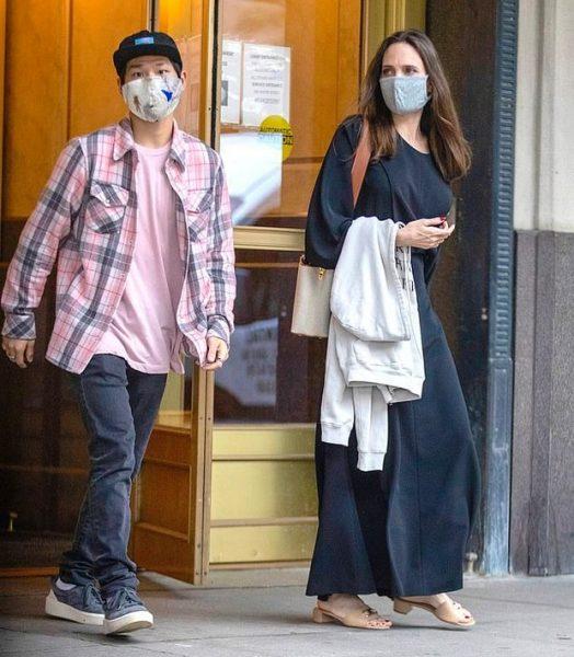 Анджелина Джоли познакомила сына с бывшим мужем - вторая встреча за неделю