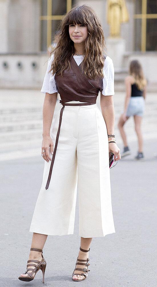Trendy culottes