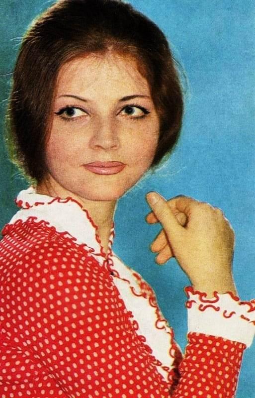 Ольга Науменко в студенческие годы. Фото art-assorty.ru