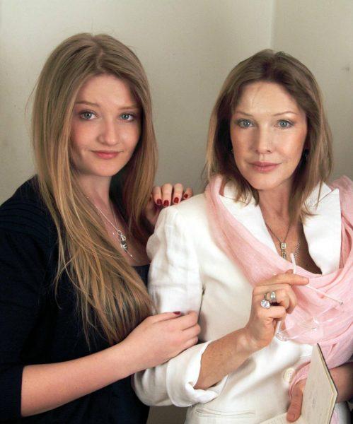 Елена Проклова с дочкой Полиной Тришиной