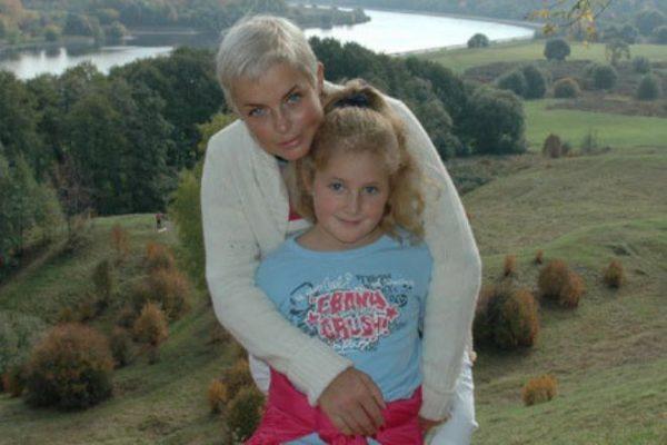 Анастасия Калманович с дочерью