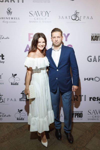 Анна Пескова с мужем, фото:cetre.ru