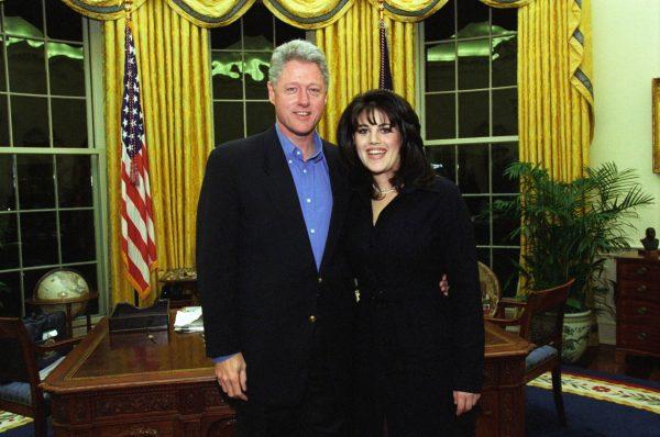 Билл Клинтон и Моника Левински в 1997 году. Фото Википедия