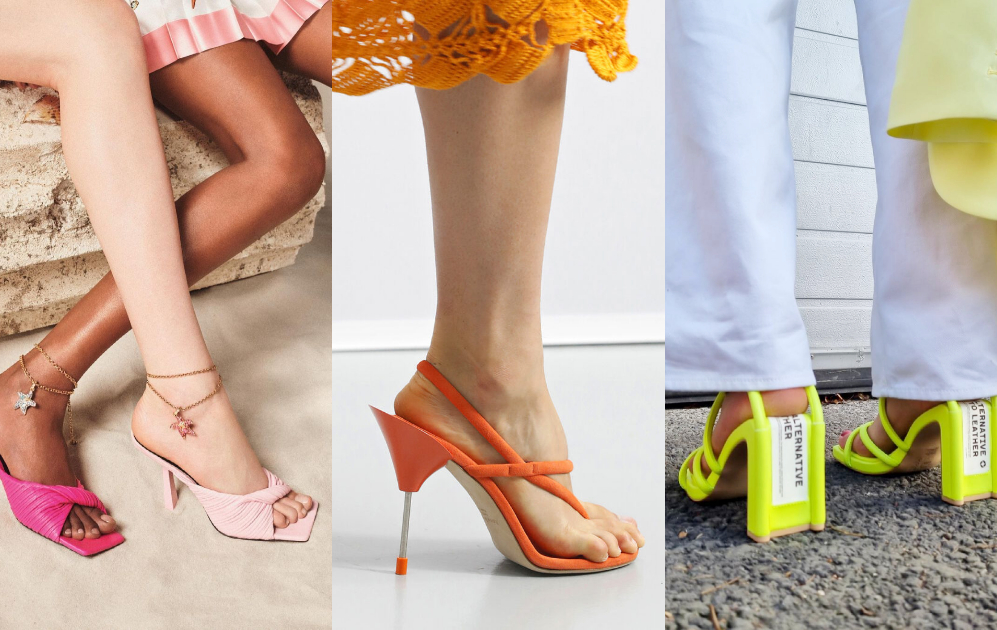 Fashionable sandals for summer 2021