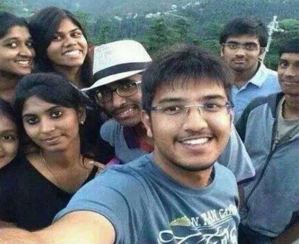 Студенты из Хайдарабада
