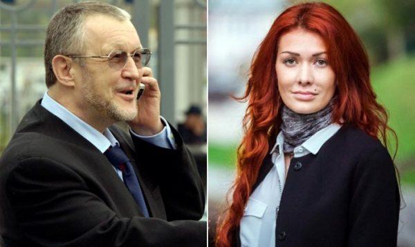 Вячеслав Иваньков и Николь Кузнецова