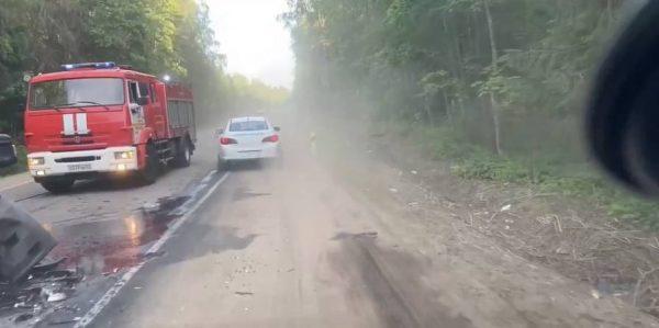 ДТР на дороге
