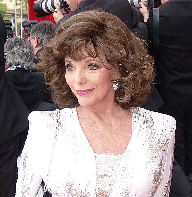 Джоан Коллинз. Фото Википедия