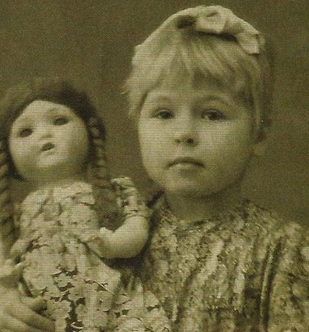 Раиса Рязанова в детстве