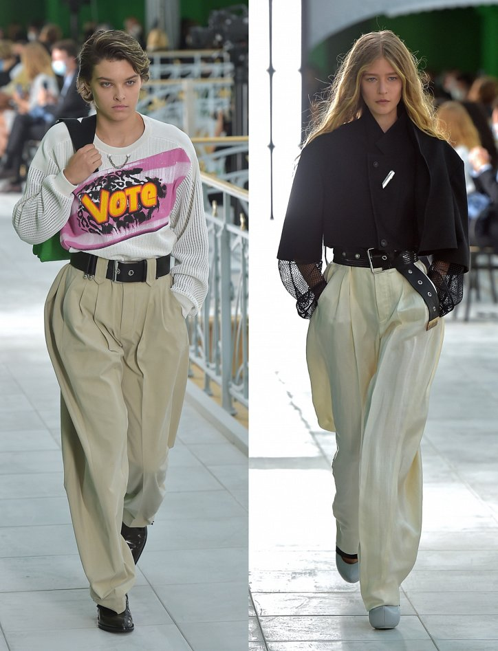 Ultra wide trousers