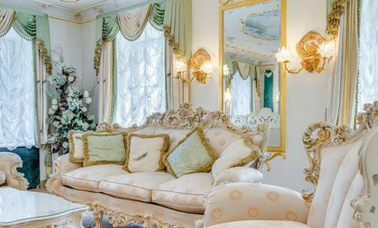 Квартира Волочковой в Питере