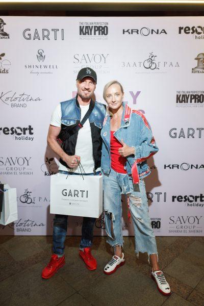 Роман Костомаров и Оксана Домнина, фото:glossy.ru
