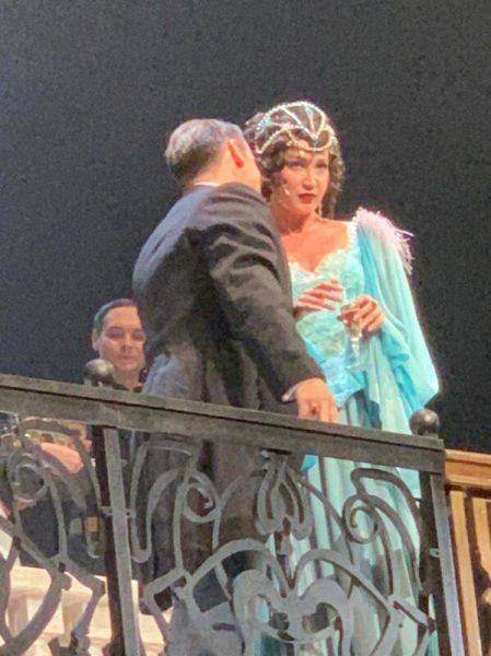 """Первые кадры с Бузовой в спектакле """"Чудесный грузин"""","""