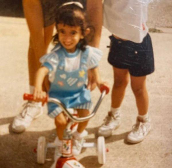 Лиззи Веласкес в детстве. Фото Инстаграм