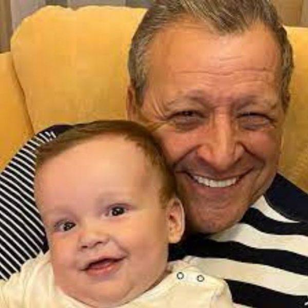 Борис Грачевский с сыном Филиппом. Фото Вокруг ТВ