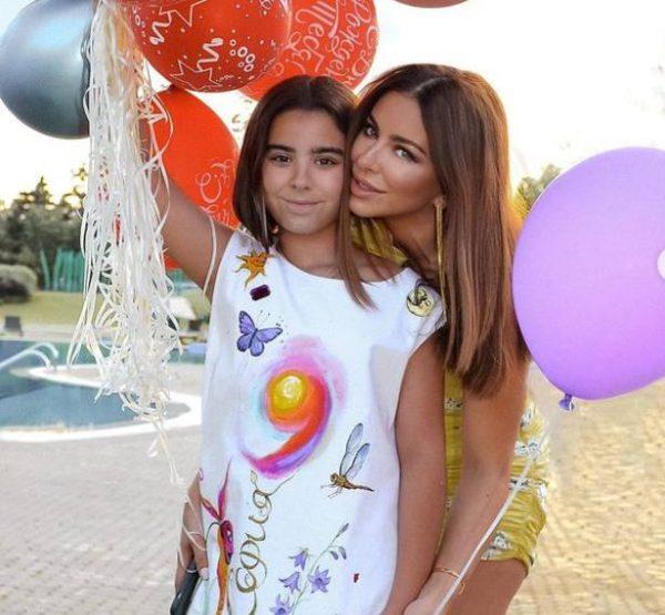 Ани Лорак и дочкой Софией. Фото Инстаграм