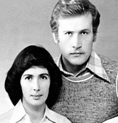 Борис Невзоров с первой женой Мариной. Фото