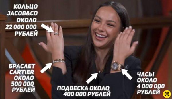 Подарки от Тимати для Сафаровой. Фото Тимати и Екатерина Сафарова на Муз-ТВ. Фото starhit.ru