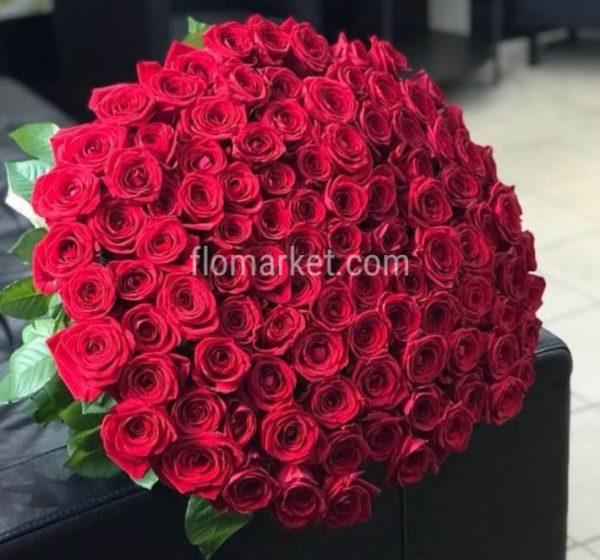 Букет из роз для любимой.