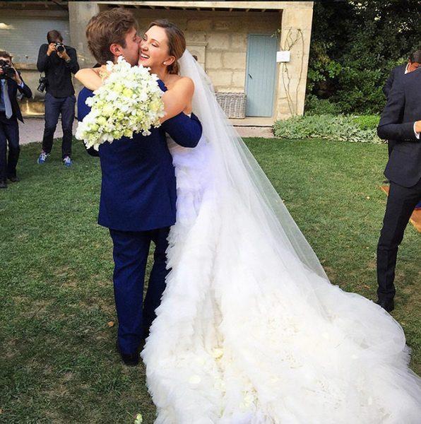 Свадьба Марины Байбаковой и Адриена Фора,