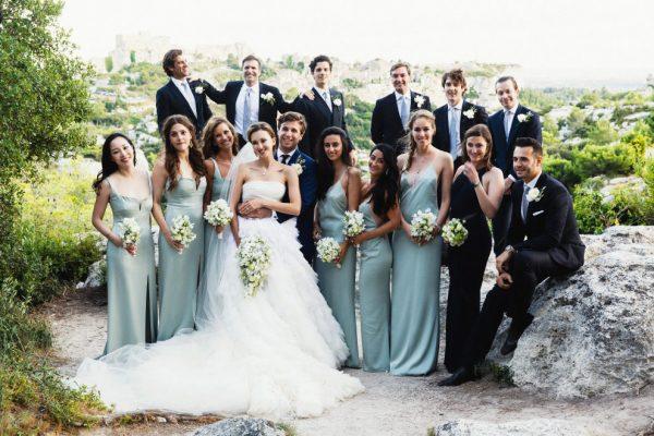 Свадьба Марины Байбаковой и Адриена Фора