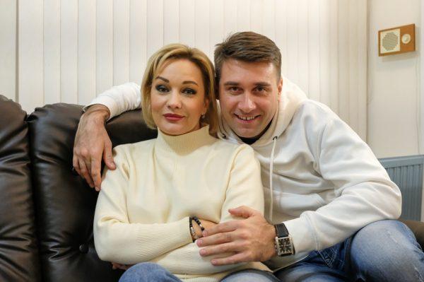 Татьяна Буланова и Артём Анчуков