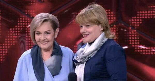 Ирина Акулова, Александра Яковлева, кадр из передачи