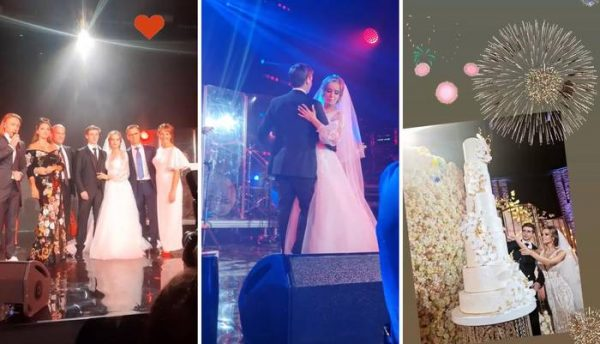 Свадьба сына Оксаны Марченко. Фотоколлаж