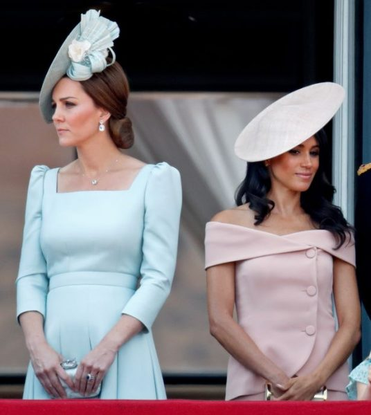 Герцогиня Кембриджская, герцогиня Сассекская