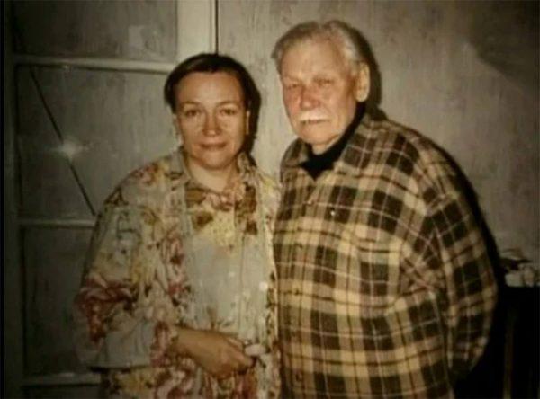 Всеволод Санаев с женой