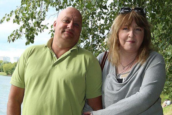 Катя Семенова с мужем