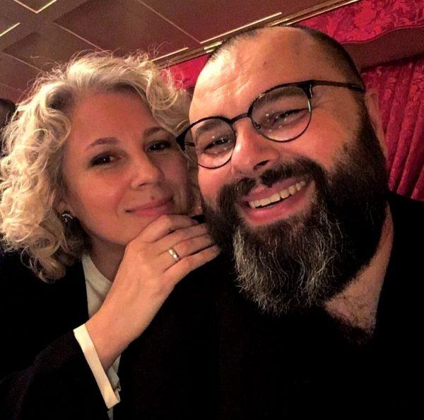 Макс Фадеев с женой