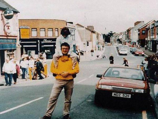 Архивное фото перед взрывом