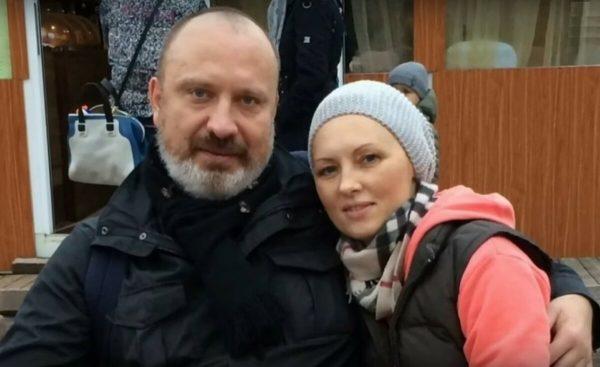 Ксенофонтова с бывшим мужем