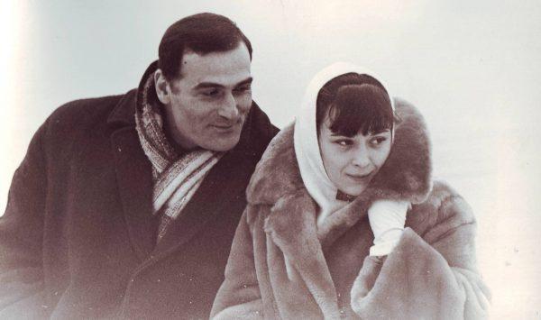 Кахи Кавсадзе с женой