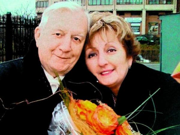 Георгий Штиль с женой
