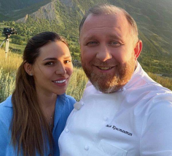 Ивлев с женой