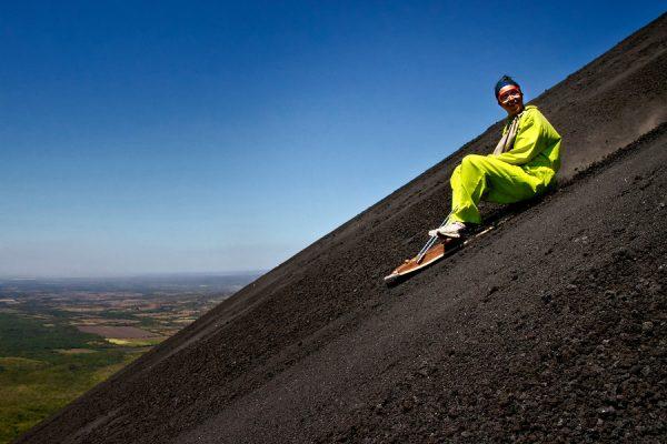 «Volcano Boarding»