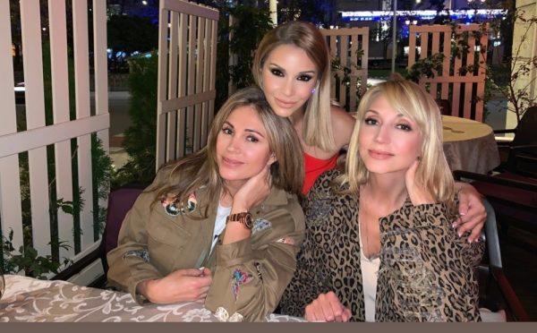 встреча Орловой с подругами Викторией Полторак и Кристиной Орбакайте