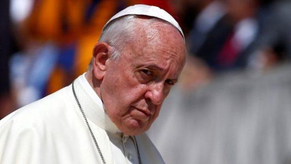 Папа Франциск. Фото ВВС